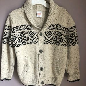 Boys Gymboree sweater 3T